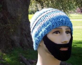 Bearded Beanie Hat L/XL