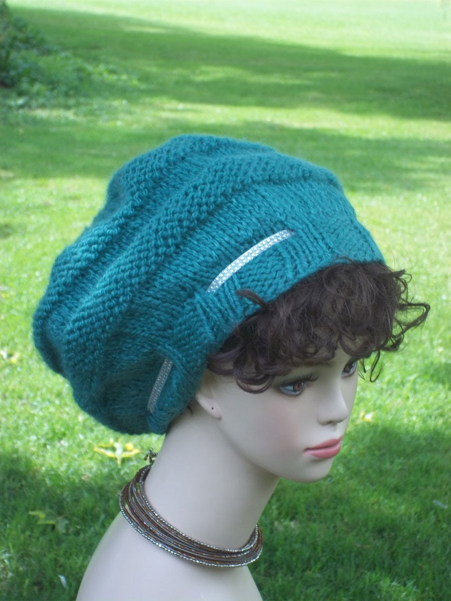 Slouch Hat Knitting Pattern Circular Needles : Pattern Knit Slouch Hat