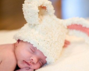 Hat Newborn Photography Newborn Girl Boy Baby Picture Props for Newborn Baby Photo Prop Hat Crochet Infant Hat Baby Bear Hat Newborn Beanie
