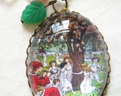 The Pied Piper of Hamelin Necklace