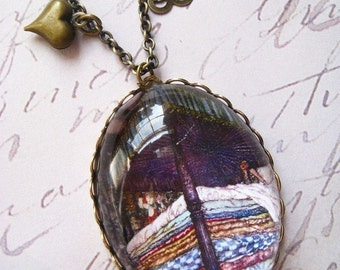 The Princess and the Pea Necklace
