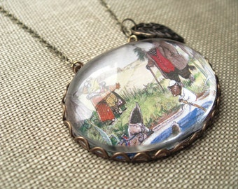 Wind in the Willows Necklace