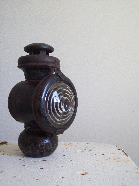 Antique Automobile Headlamps : Antique car automobile kerosene headlight headlamp ford model