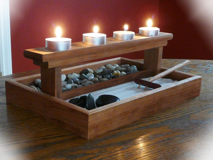 mini zen garden. Black Bedroom Furniture Sets. Home Design Ideas
