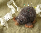 Moley - Felted Pin Cushion