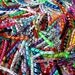 100 Korker Pieces - ASSORTED MIX - Precut, Ends Heat Sealed, Ready to Use - 3/8 Grosgrain Ribbons