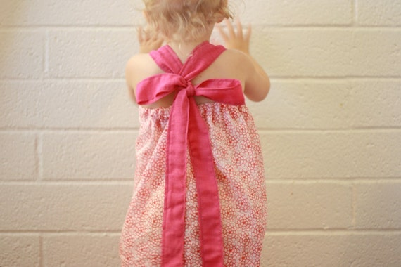big bow quick dress PDF SEWING PATTERN / ETUTORIAL 12/18 mos. to 5T
