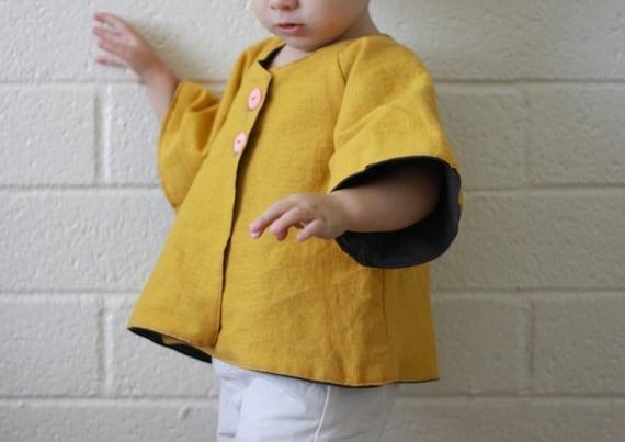 hello bolero jacket / pdf pattern sizes 12 MONTHS to 7 YEARS