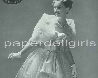 Vintage Fashion Magazine Ad L'Officiel French June 1965 Madeleine de Rauch Haute Couture