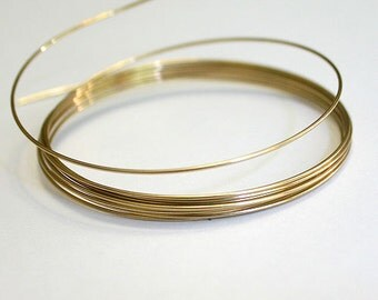 Wire 26 Gauge Round 12Kt Gold Filled 5 Feet