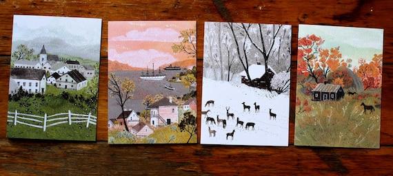seasonal card set