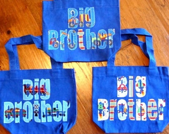 Big Brother Toddler Tote