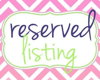 custom listing for lara johnson