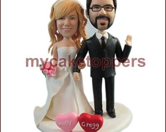 cake topper for wedding, cake topper for birthday, custom cake topper look like you, look like you