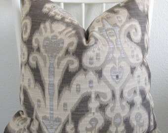31446.1611 Kravet ikat decorative pillow cover