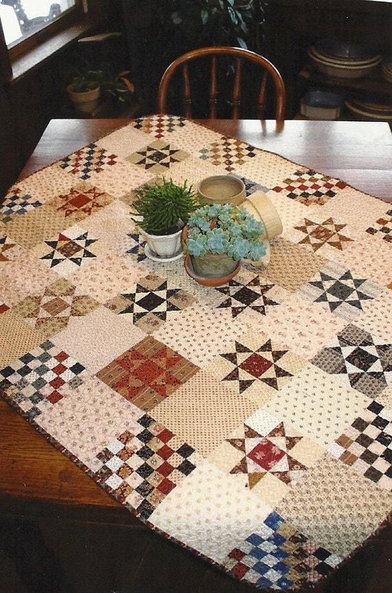 Primitive Folk Art Quilt Pattern Best Of All : Primitive Folk Art Quilt Pattern: OHIO STAR by PrimFolkArtShop