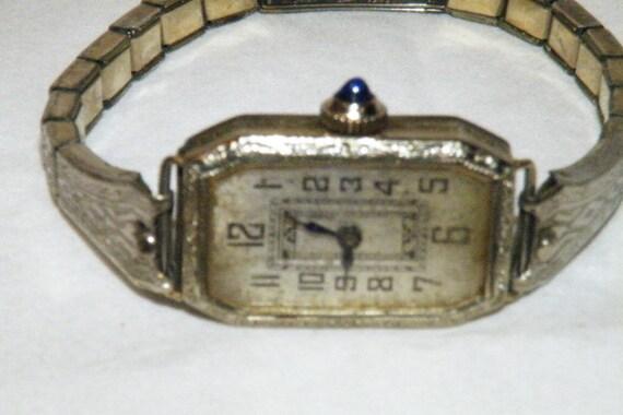Ladies' Art Nouveau Wrist Watch
