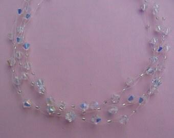 Aurora Borealis Swarovski Necklace