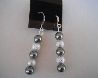 Pearl and Stardust Earrings