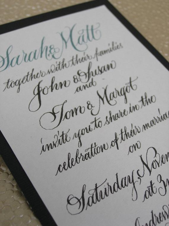 DIY Wedding Invitation Collection