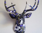 Items Similar To Enchanted Forest Deer Head Wall Mount On Etsy
