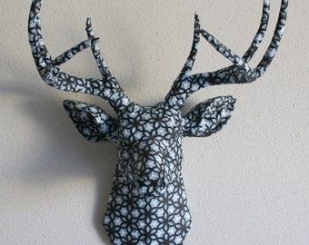Ty Pennington Kimono Espresso Deer Head wall mount