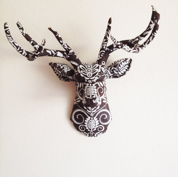 Doozie Brown Deer Head Wall Mount