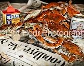 Baltimore Orioles Goodbye Cal Ripken Steamed Crab Print
