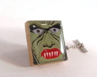 Werewolf Mens Halloween Tie Tack