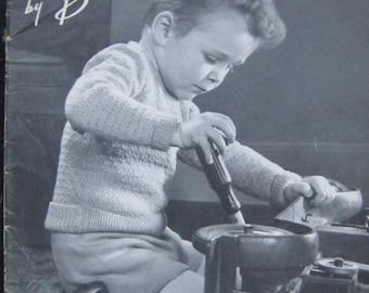 Vintage Children's Knitting Pattern Book 1949