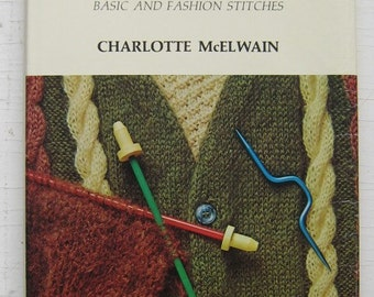 Knitting With Stop and Go Needles Vintage Knitting Instruction Book 1968