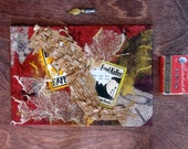 Mixed Media Art Collage Original  - The Anarchist Cafe