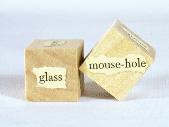 Alice in Wonderland - Unblockers Writer Inspiration Dice Pair Writer's Gift