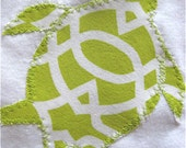 RESERVED For SHAIR :Beautiful decorative pillows with turtle applique