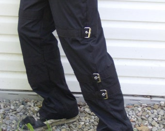 Buckled men's pants