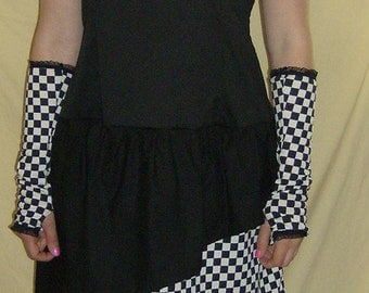 Checkmate dress (black)