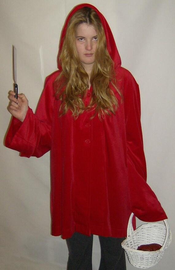 Little Red Raging Hood Cape/Coat