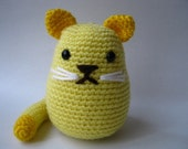 Amigurumi Yellow Cat