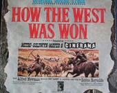 ORIGINAL How The West Was Won 1962 Soundtrack lp Rare Vinyl Record Album