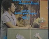 SUSAN From SESAME STREET Volume 1 Lp Original Vinyl Record Album