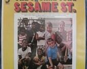 SEALED SESAME STREET The Square Song Lp 1969 Original Vinyl Record Album Mint