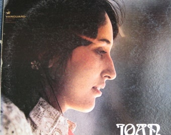 JOAN BAEZ - Joan lp 1967 Vanguard Rare Original Vinyl Record Album