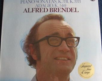 SEALED MOZART Piano Sonatas k.331 k.333 Adagio k.540 Alfred Brendel Piano Vinyl Record Album