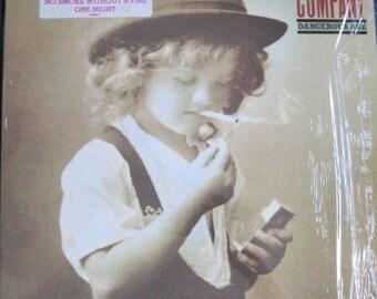 BAD COMPANY Dangerous Age lp 1988 Original Atlantic Promo Pressing Vinyl Record Album Near MINT