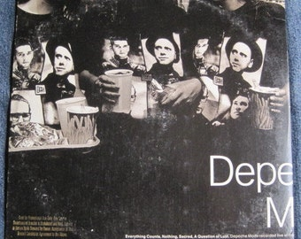 DEPECHE MODE Everything Counts Ep Maxi Single 1988 Original PROMO Vinyl Record Album