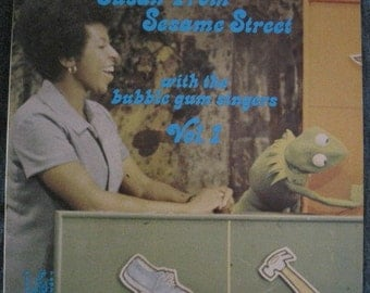 SUSAN From SESAME STREET Volume 1 Lp Original Vinyl Record Album