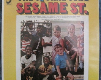 SEALED SESAME STREET The Square Song Lp 1969 Original Vinyl Record Album Mint