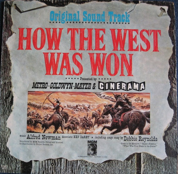 ORIGINAL How The West Was Won 1962 by TotallyAwesomeVinyl ...