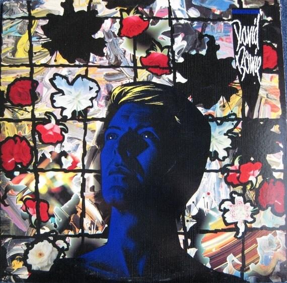 David Bowie Tonight Lp 1984 Original Vinyl Record Album