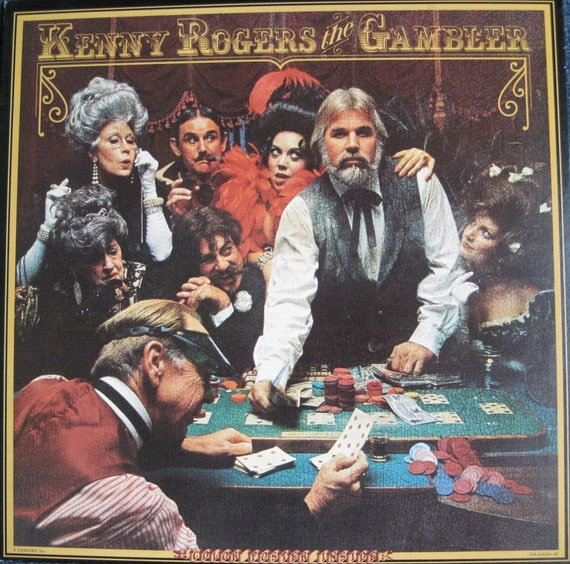 KENNY ROGERS The Gambler lp 1978 Original by ...